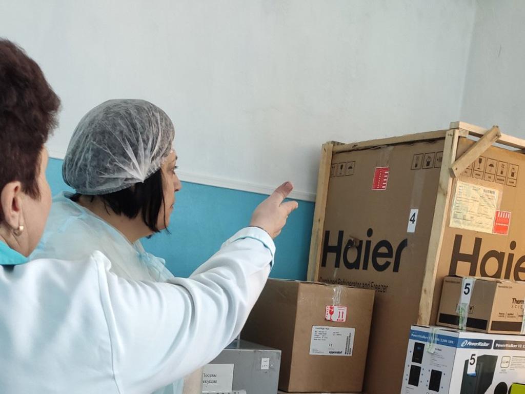 Проект международной организации FAO помог Госпродпотребслужбе в Луганской области получать лабораторное оборудование